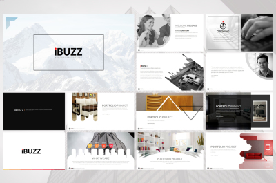 iBuzz Powerpoint Template
