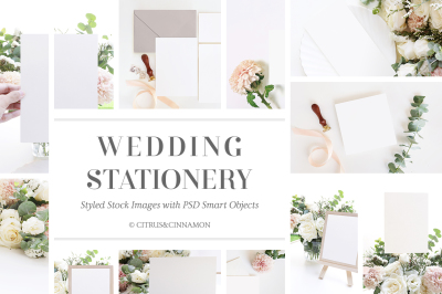 WEDDING STATIONERY MOCK UP BUNDLE
