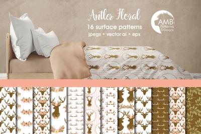 Antler Floral patterns, Antler papers AMB-1490