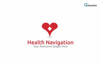 Health Navigation Logo Template