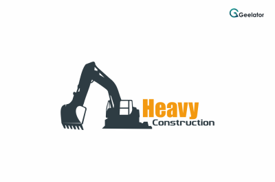 Heavy Construction Logo Template