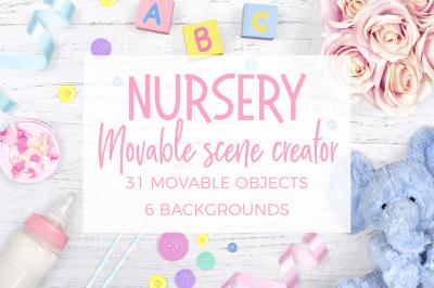 Nursery Scene Creator - Top View