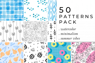 50 PATTERNS Collection