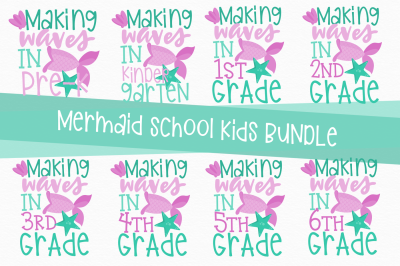 Mermaid Back To School Bundle