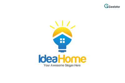 Idea Home Logo Template