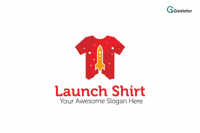 Launch Shirt Logo Template