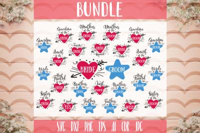 Wedding Bundle SVG Included 26 designs