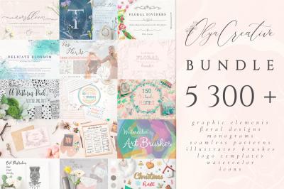 5300 in 1 ~ Olya.Creative Bundle