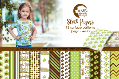 Sloth Surface Patterns, Sloth Papers, AMB-2206