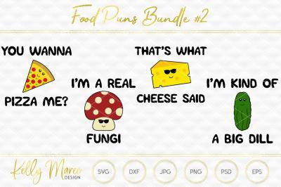 Food SVG File Bundle   Cut File   Silhouette Cameo   Cricut