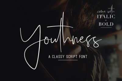 Youthness Family - Modern Script