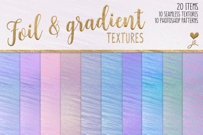 Foil and Gradient Textures