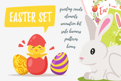 Big Easter set
