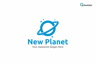 New Planet Logo Template