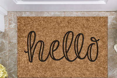Hello | Doormat Cut File