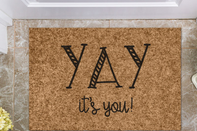 Yay It's You | Doormat Cut File