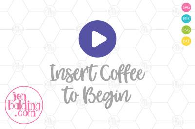 Insert Coffee SVG