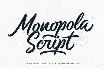 Monopola Script