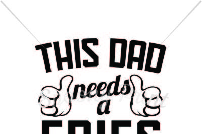 This dad needs a Fries