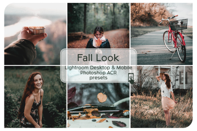 Fall Look Lightroom Desktop and Mobile Presets