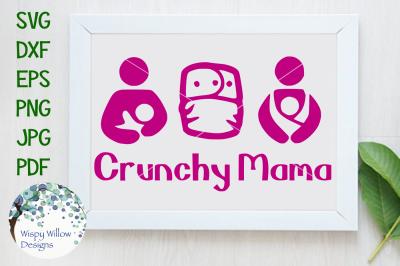 Crunchy Mama, Baby Wearing, Cloth Diaper, Breastfeeding