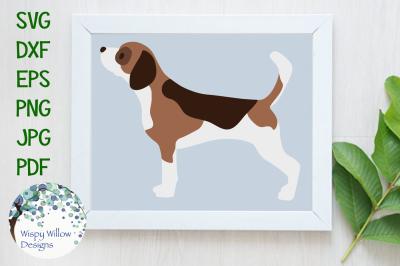 Beagle Dog Animal Cut File