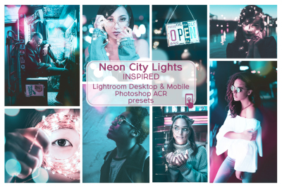 Lr & Ps Presets ACR Neon City Lights