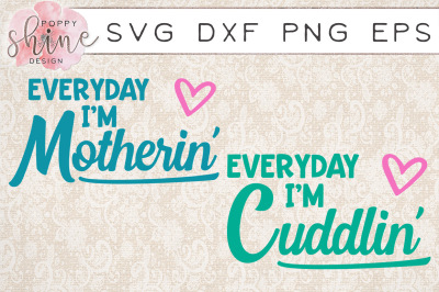 Baby & Me Bundle of 2 SVG PNG EPS DXF Cutting Files
