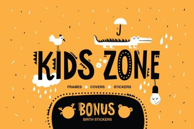 KIDS ZONE. Graphic collection