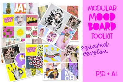 Modular Mood Board Toolkit