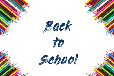 Back to school creative background