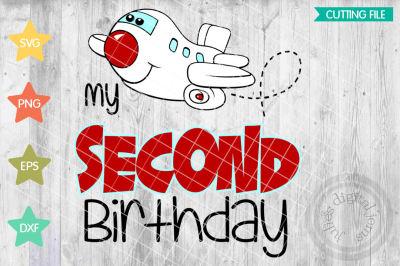 My Second Birthday Airplane