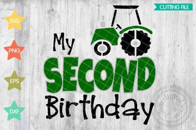 Tractor Birthday 2nd