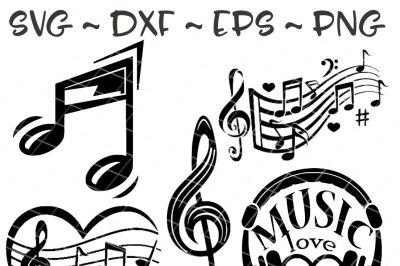 Music svg bundle