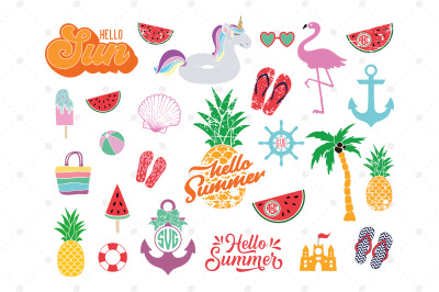 Summer SVG Mini Bundle