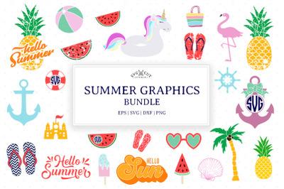 Summer SVG Mini Bundle