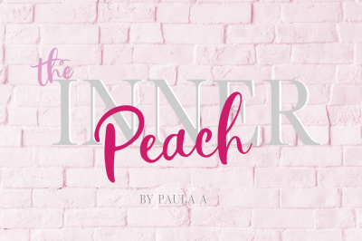 The Inner Peach | Font Duo