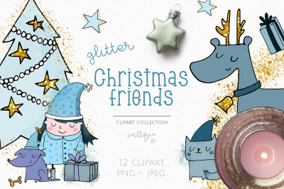 Christmas clipart collection