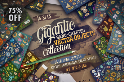 -75% Objects Gigantic Bundle
