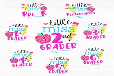 Girl back to school bundle
