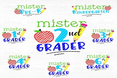 Boy Back to school svg