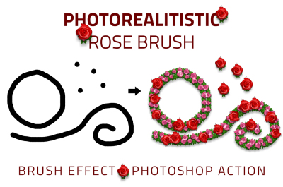 Rose Brush Photo Effect