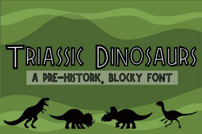 ZP Triassic Dinosaurs