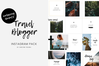 Travel Blogger Instagram Pack