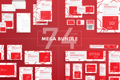 Design templates bundle | flyer, banner, branding | Massage Therapist
