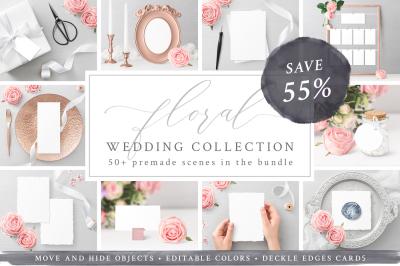 Wedding Mockups Bundle SAVE 55%