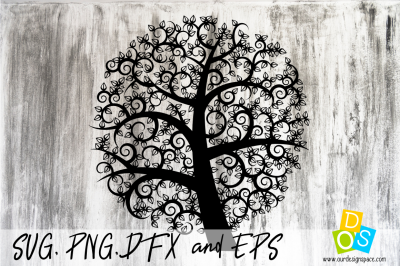 SVG, PNG, DXF and EPS Family Tree