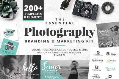 The Essential Photography Branding & Marketing Kit