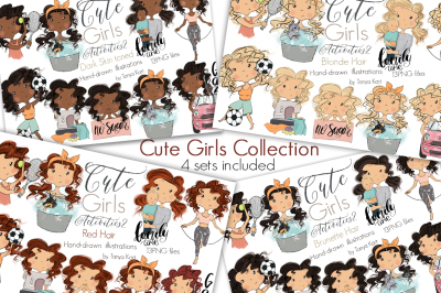 Cute Girls Activities Collection
