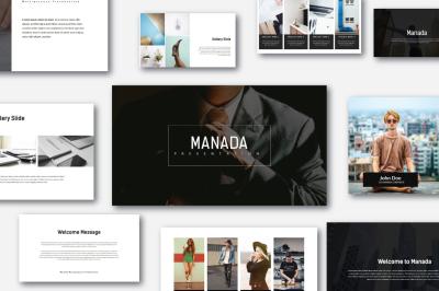 Manada MNML Multipurpose Powerpoint